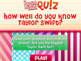 play Quiz- Do You Know Taylor Swift?