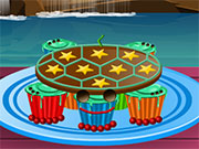 Pull Apart Turtle Cupcakes - [Cooking Games] - at playkissing