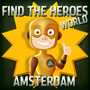 play Find The Heroes World - Amsterdam