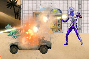 Play Ultraman vs Robot Game