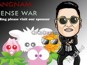 Gangnam Defense War Hacked