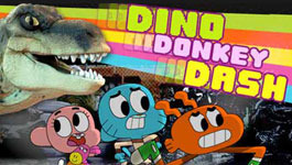 play Dino Donkey Dash