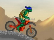 play Ninja Turtle Bike 2