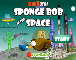 play Sponge Bob In The Space