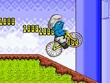 play Smurf Bmx Bike