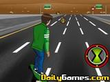 play Ben 10 Highway Skateboard