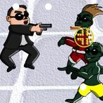 play Psy Gangnam Style Vs Zombies