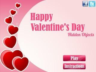 Happy Valentines Day Hidden Objects Free Online Games