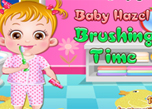 play Baby Hazel Brushing Time