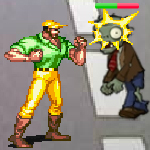 play Fighter Vs Zombies