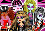 play Monster High Rock Band