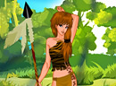 play Cute Tribal Huntress
