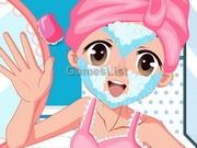 play Sweet Girl Facial