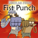 Play regular show fist punch