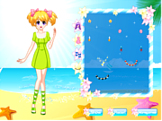 play Pretty Beach Wandering Girl