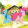 Rainbow Dash Journey game