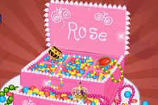 princess jewelry box cake food