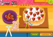 play Chocolate Strawberry Birthday Cake