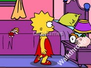 play Lisa Simpson Saw Game Walkthrough