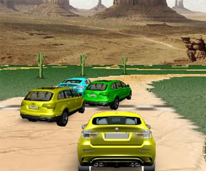play 3D Jeep Racing