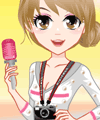play Vibrant Journalist Dress Up