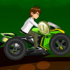 play Ben 10 Crazy Motorcycle