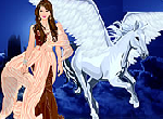 play Pegasus Princess Dress Up