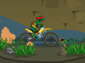 play Ninja Turtle Bike