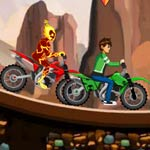 play Ben10 Bike Champ