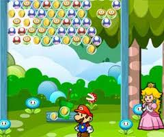 play Mario Fruit Bubbles 2