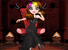 Emo Evil - Dress Up,Fun - girlgamesplaza games - GameKB