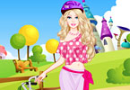 play Barbie Bike Ride Dress Up