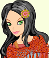 Freedom Loving Betty Dress Up Game Hippie game