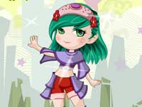 play Wonders Girl Dressup