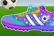 Decorate My Football Shoes game