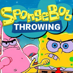 Spongebob Throwing game