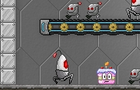 Robot Cake Defender game