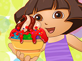 play Dora Ice Cream Decor