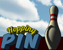 Hopping Pin Bowling game