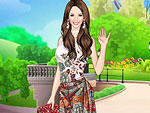 Oriental Beauty Dress Up game