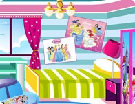 play Cinderella Style Room Decoration