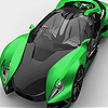 play Green Luxurious Car Puzzle