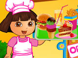 play Dora Fun Cafe
