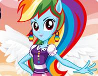play Equestria Girls - Rainbow Dash