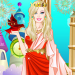 play Barbie Greek Princess Dress Up