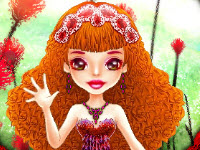 play Cute Thumbelina Dress Up