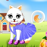 Kitty Dressup game
