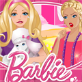 play Barbie Slacking