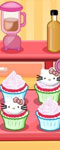 play Hello Kitty Apples And Banana Cupcakes