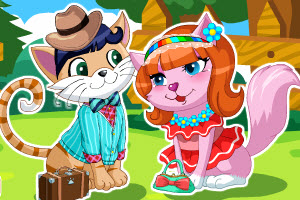 play Sweet Kitten Date Dressup